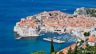 Panorama-Ansicht der Altstadt von Dubrovnik (Foto: dozer)