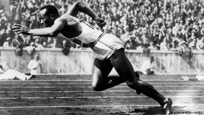 Джеси Оуенс на Олимпийските игри в Берлин