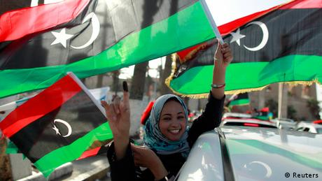 Wahlen in Libyen Autokorso