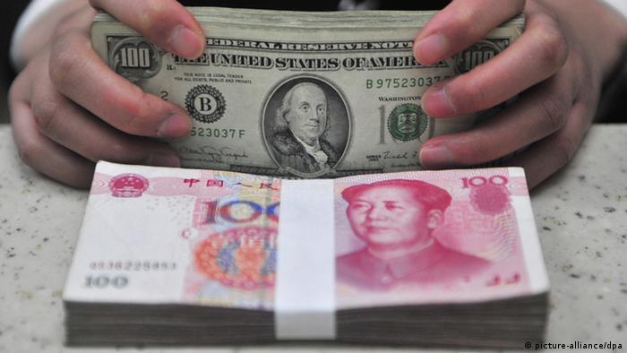 Symbolbild China Inflation fällt