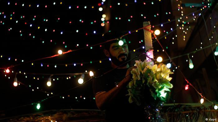 Bahrain Ramadan-Dekorationen und Lichter - Foto: dapd