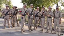 Russisches Militär in Tadjikistan. Copyright: DW/Galim Fashutdinov
