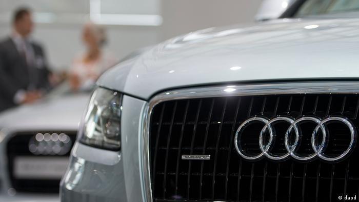The Audi logo.