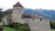 Liechtenstein Burg in Vaduz