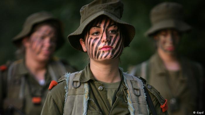 Symbolbild - Soldatin in Israel