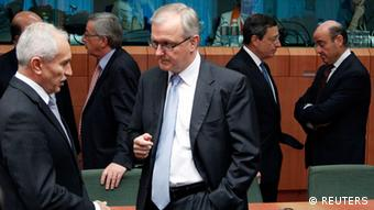 Treffen EU Finanzminister