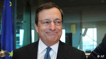 President of the European Central Bank Mario Draghi (Photo:Yves Logghe/AP/dapd).