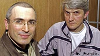 Michail Chodorkowski und Platon Lebedjew Yukos
