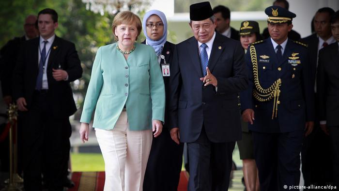 Angela Merkel Indonesien Susilo Bambang Yudhoyono