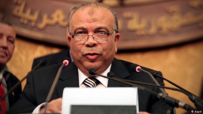 Saad el Katatni Ägypten Parlament Sprecher
