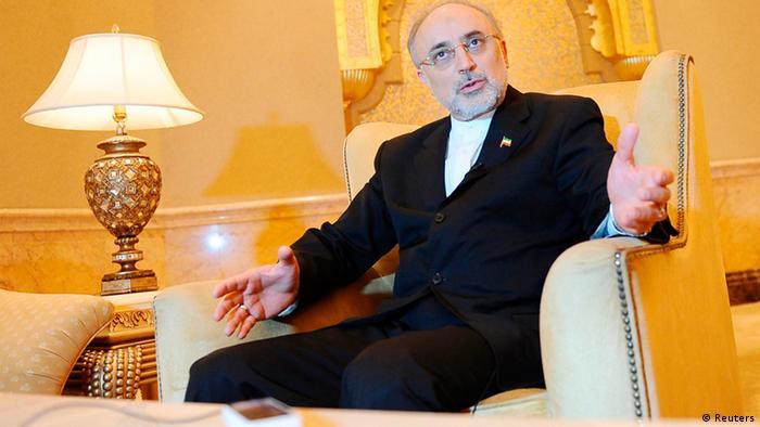 Iran Außenminister Ali Akbar Salehi