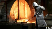 Steelmaker in action (dapd)