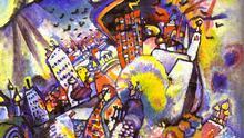 Wassily Kandinsky Moskau (1916)