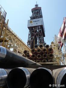 (Foto de arquivo) Plataforma de exploração de gás na Bacia do Rovuma, Cabo Delgado