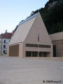 Parlament Gebäude in Lichtestein