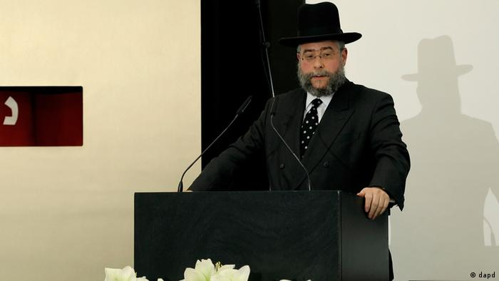 Rabbi Pinchas Goldschmidt (Photo: Ronald Wittek / dapd)