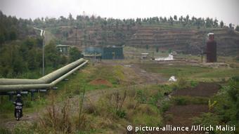 Java: Dieng Plateau, Geothermiekraftwerk Geothermiekraftwerk; Java; Geothermie; Dieng Plateau