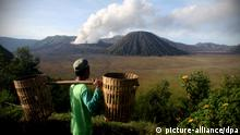 Indonesia Geothermie Geothermie Anlage Bromo Dampf Vulkan Forschung