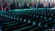 17. Gedenktag vom Völkermord in Srebrenica. Die Bilder wurden in Juli 2012 aufgenommen. Copyright: DW/Marinko Sekulic Srebrenica, Juli, 2012