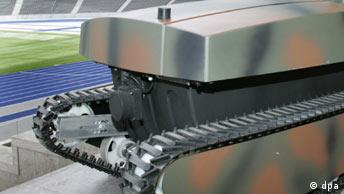 Sicherheitsroboter für mobile Aufklärung