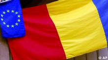 Symbolbild EU Rumänien Flagge