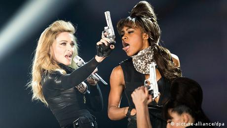 Deutschland USA Musik Madonna in Köln