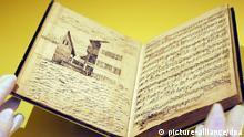 Deutschland Museum Tagebuch von Felix Mendelssohn Bartholdy in Freiburg
