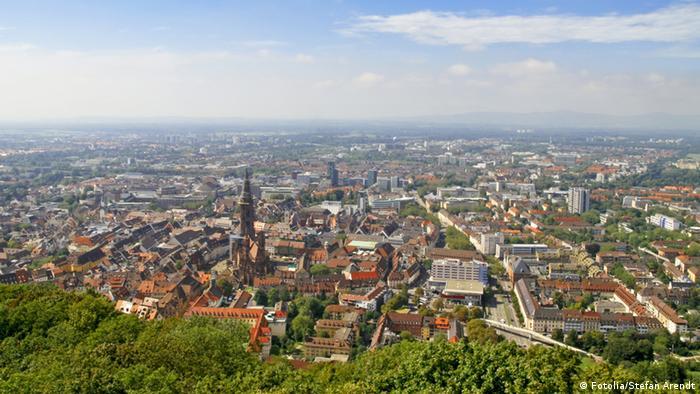 Вид на Фрайбург