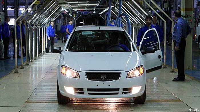Iran Autoindustrie