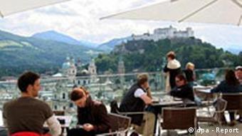 Gaststätte in Salzburg Österreich