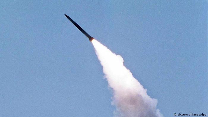 Ракета ЗРК С-300, що нині стоїть на озброєнні України