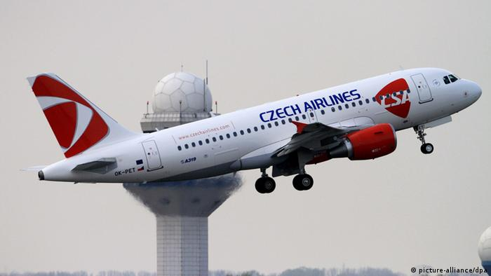 Czech Airlines argued its flight had been on time