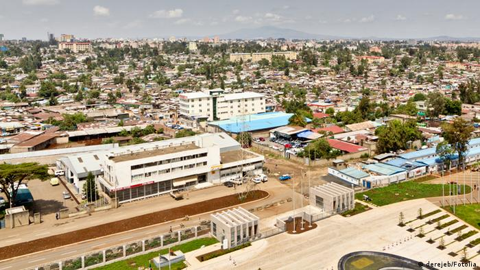 Aerial view of Addis Ababa © derejeb #42996737