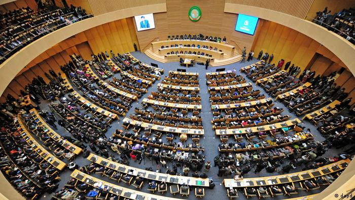 Union Conference Center in Addis Ababa, Ethiopia, (Foto:Xinhua, Ding Haitao/AP/dapd)