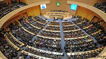 African Union Conference Center in Addis Ababa, Ethiopia. (Foto:Xinhua, Ding Haitao/AP/dapd)
