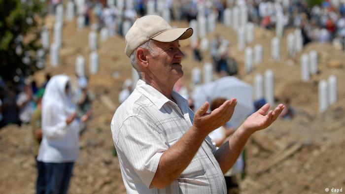 Gedenkfeier Srebrenica