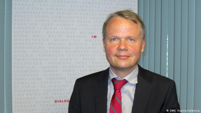 Philipp Schauer, embaixador da Alemanha em Moçambique