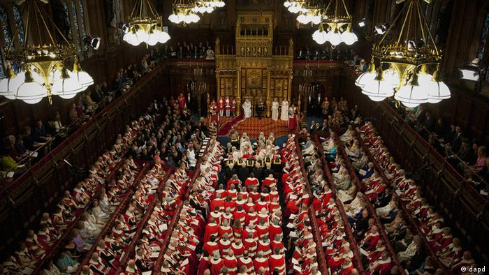 House of Lords London Großbritannien