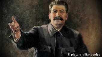 Πορτρέτο του Στάλιν από τον καλλιτέχνη Αλεξάντερ Γκερασίμοφ