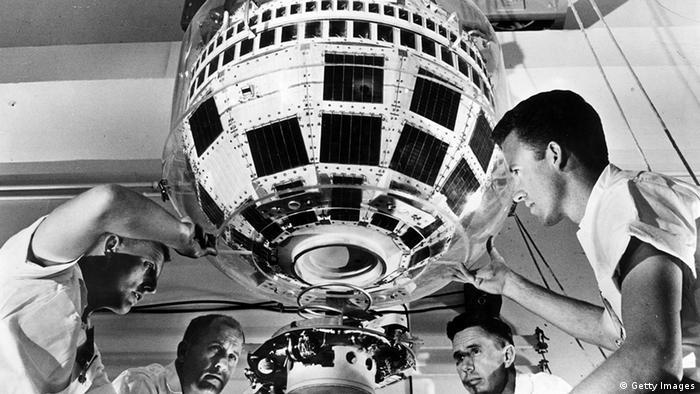 USA Europa Telstar 1 Satellit vor 50 Jahren funkte der erste TV-Satellit