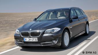 German BMW 528i