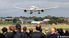 Großbritannien Luftfahrt Messe in Farnborough Boeing 787
