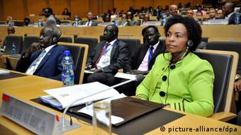 South African Minister of International Relations and Cooperation, Ms Maite Nkoana-Mashabane, at the Executive Ministerial Meeting of the AU. (Photo: dpa)