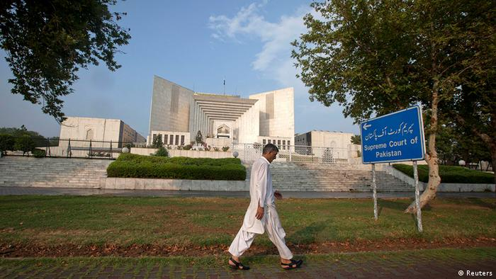 The Supreme Court building in Islamabad