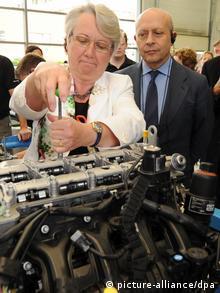 Bundesbildungsministerin Annette Schavan (CDU) und der spanische Bildungsminister Jose Ignacio Wert Ortega (Foto: dpa)