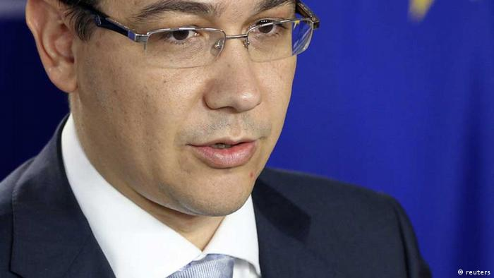 Source News Feed: EMEA Picture Service ,Germany Picture Service Romania's Prime Minister Victor Ponta addresses a news conference after meeting European Parliament President Martin Schulz at the EU Parliament in Brussels July 11, 2012. Romania's prime minister assured European leaders on Wednesday that his government was fully committed to democracy and the rule of law after drawing fire for suspending President Traian Basescu by a vote in parliament. REUTERS/Francois Lenoir (BELGIUM - Tags: POLITICS HEADSHOT) /eingest. sc