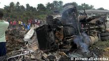 Tanklaster Explosion in Nigeria