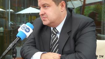 Interview Ivica Dacic Innenminister Serbien