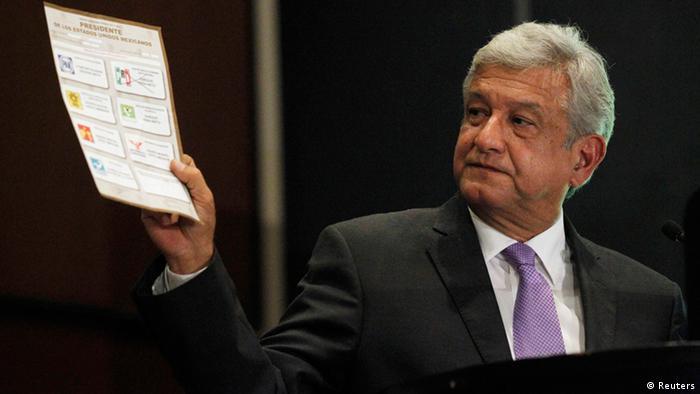 Mexiko Andres Manuel Lopez Obrador (Reuters)