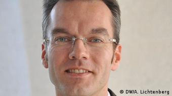 Ernst Ekkehard (Arbeitsmarktexperte bei der ILO) Foto:: DW/A. Lichtenberg